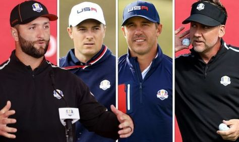 Ryder Cup Friday pairings confirmed with Ian Poulter and Brooks Koepka among headliners