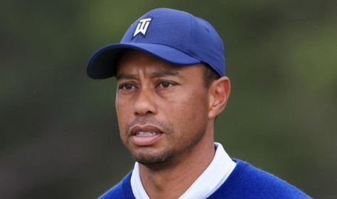 Tiger Woods back on the golf course eight months after horror car crash