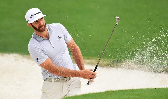 Masters golfer Dustin Johnson