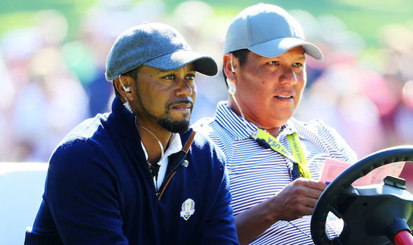 Notah Begay III was surprised by Tiger Woods' announcement