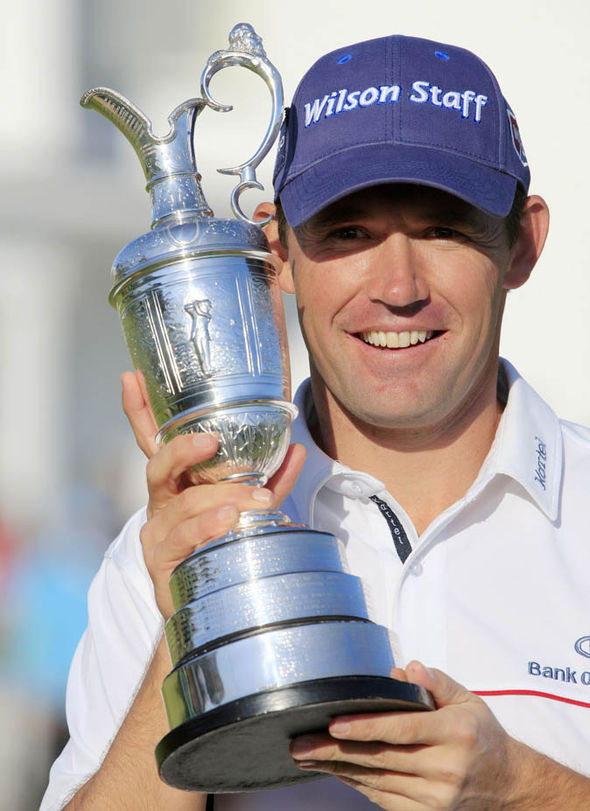 Padraig Harrington was the last person to win back-to-back Open titles