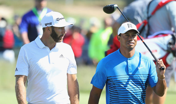 Tiger Woods and Dustin Johnson  US Open 2018: Live stream, TV channel, timings, schedule and tee times | Golf | Sport Tiger Woods and Dustin Johnson 1379933