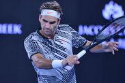 Australian Open Roger Federer second round Jurgen Melzer Stan Wawrinka