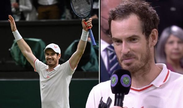 Andy Murray makes Wimbledon request for Denis Shapovalov clash after epic five-set win