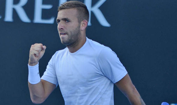 Dan Evans Australian Open Marin Cilic tennis news