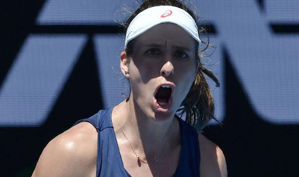 Australian Open 2017 Johanna Konta Naomi Osaka second round