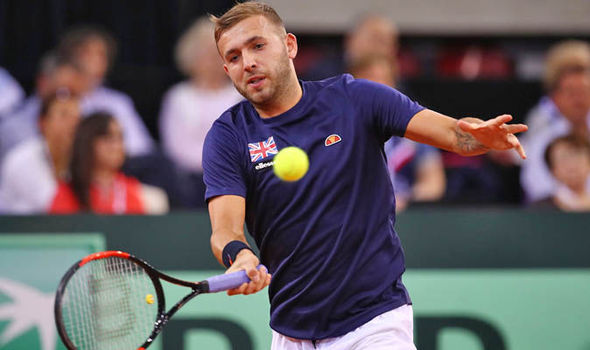 Britain are 2-0 down to France after Dan Evans was beaten