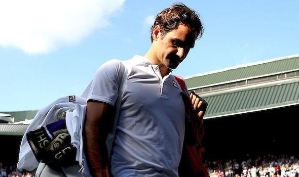 Roger Federer departs Wimbledon
