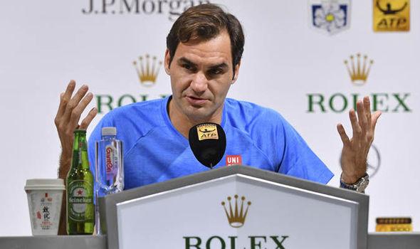 Roger Federer returns to action to face Daniil Medvedev in the Shanghai Masters