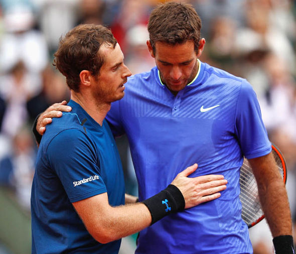 Andy Murray claimed last week he wasn't playing well enough to win the French Open