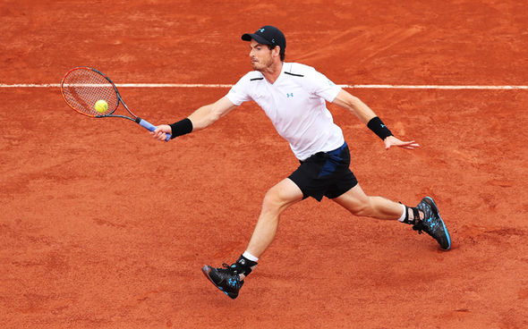 French Open top seed Andy Murray