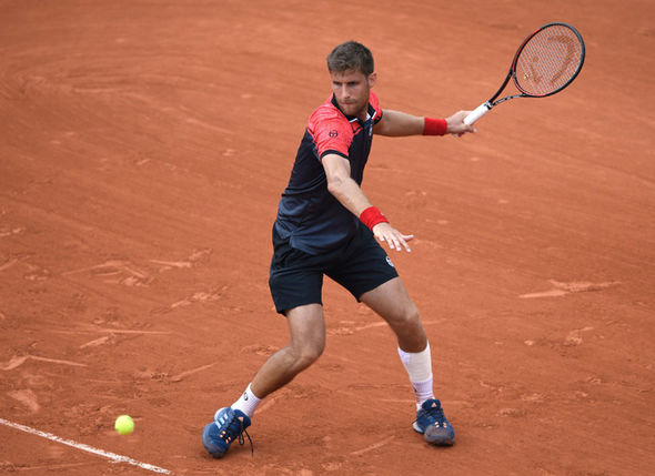 French Open player Martin Klizan