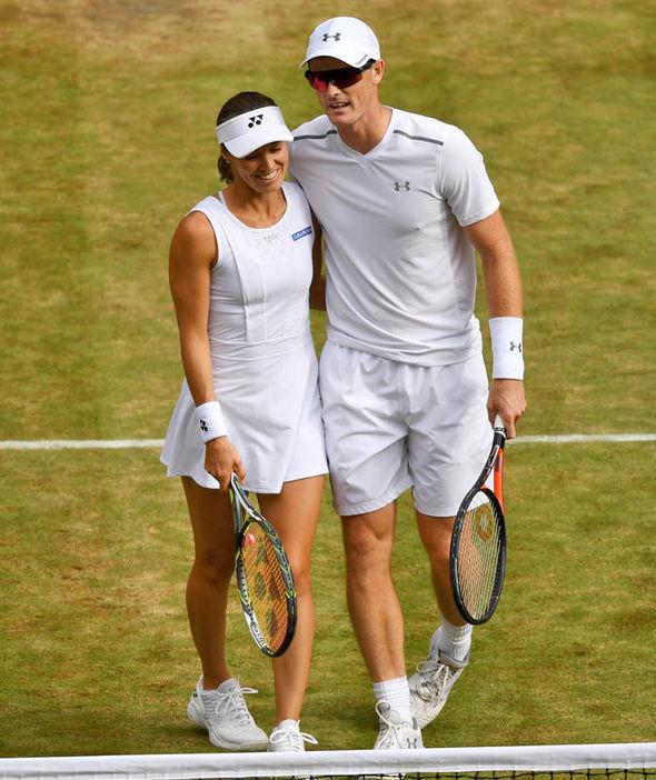 Martina Hingis and Jamie Murray