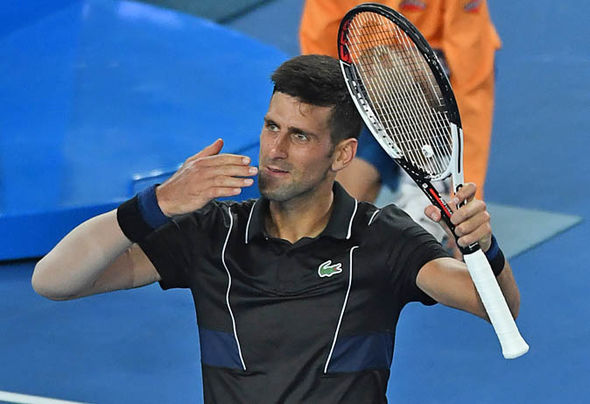 Novak Djokovic is making a strong return from his long injury lay-off  Australian Open 2018 results LIVE: Marin Cilic awaits winner of Federer vs Chung | Tennis | Sport Novak Djokovic is making a strong return from his long injury lay off 1203409
