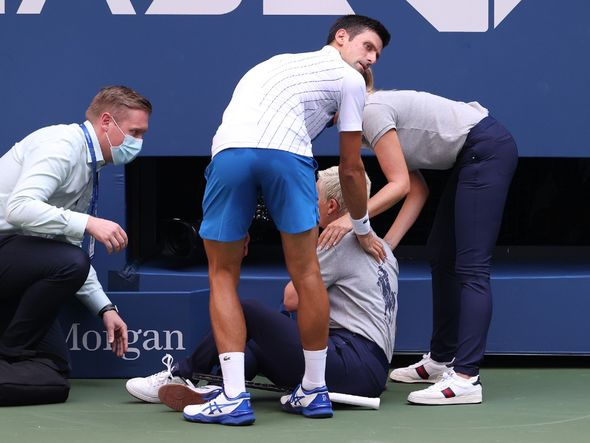This is why Novak Djokovic disqualified from the US Open 2020 ?