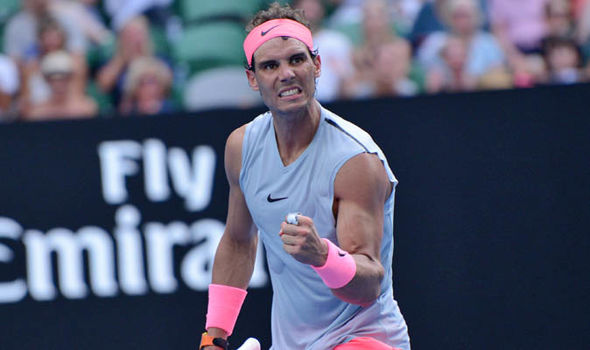 Rafael Nadal is aiming to win his first Australian Open since 2009  Australian Open 2018 results LIVE: Marin Cilic awaits winner of Federer vs Chung | Tennis | Sport Rafael Nadal is aiming to win his first Australian Open since 2009 1203407