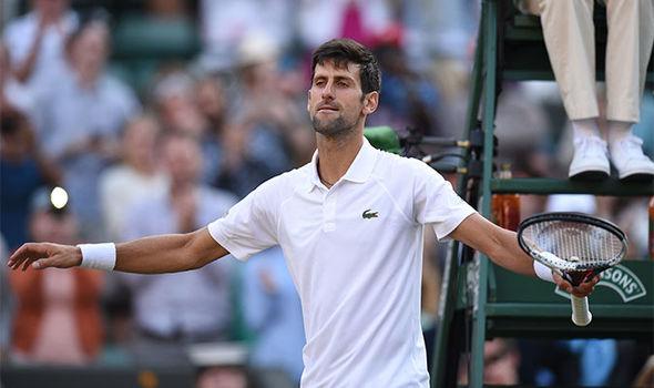Roger Federer Wimbledon Novak Djokovic