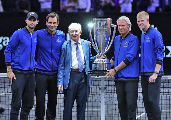 Roger Federer hasn't competed since the Laver Cup
