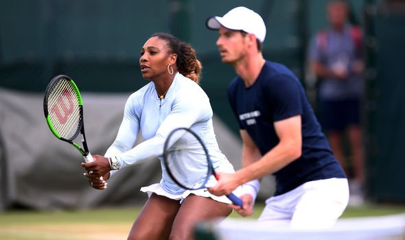Serena Williams has admitted the hype around this game has given her nerves