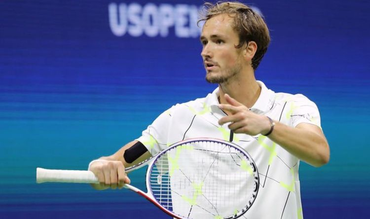Daniil Medvedev involved in Roger Federer and Novak ...