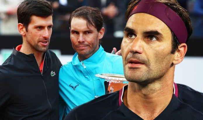Roger Federer wades into GOAT debate vs 'extraordinary' Rafael Nadal and Novak Djokovic