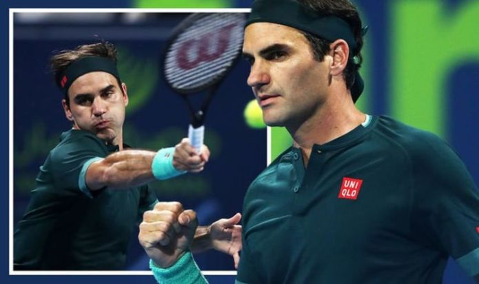 Roger Federer admits he is not pain-free after Dan Evans comeback win at Qatar Open