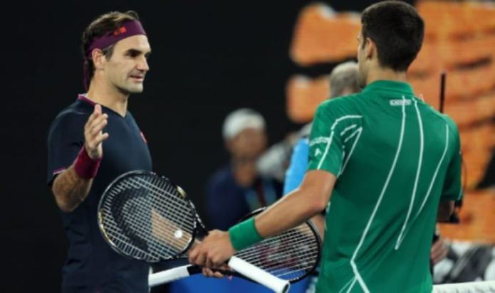 Roger Federer explains the key question fans always ask him involving Novak Djokovic