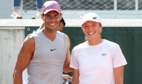 Rafael Nadal's 'positive energy' hailed by women's champion Iga Swiatek at French Open