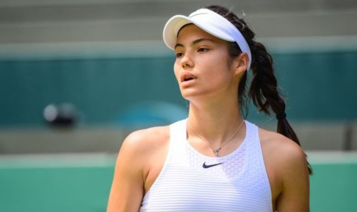 Emma Raducanu labelled 'the real deal' and compared to her tennis idol amid Wimbledon run