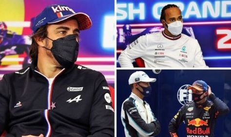 Fernando Alonso brutally snubs Lewis Hamilton for George Russell and Max Verstappen