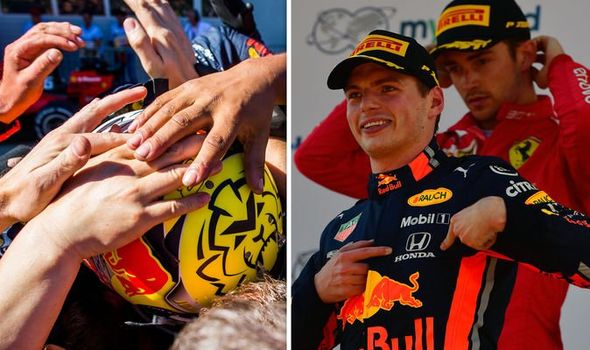 Austrian Grand Prix LIVE: Max Verstappen beat Charles Leclerc to record an emphatic win late on