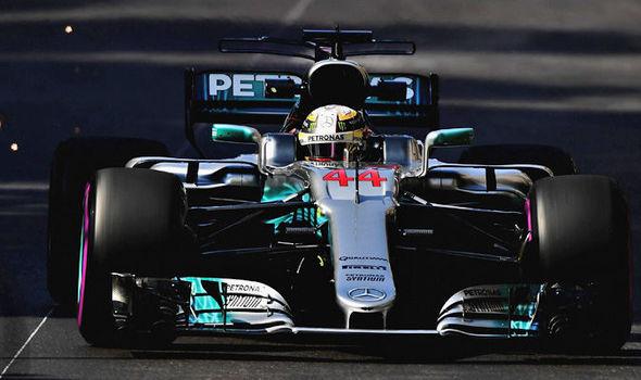 Lewis Hamilton at the Monaco Grand Prix