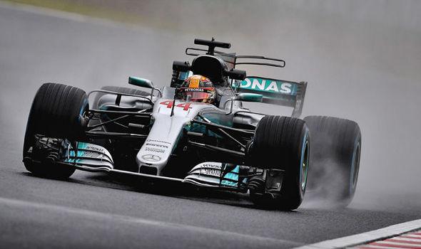 Lewis Hamilton at the Japanese Grand Prix 2017