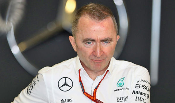 Paddy Lowe ex Mercedes director