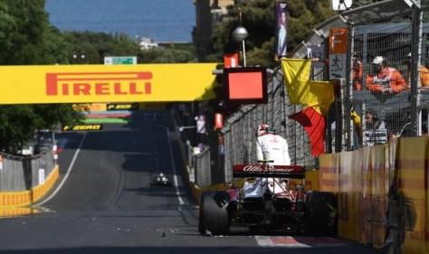 Azerbaijan Grand Prix LIVE: Charles Leclerc faces Lewis Hamilton and Max Verstappen battle