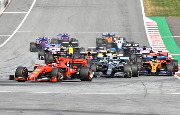 Austrian Grand Prix LIVE: It's tight between Leclerc, Hamilton, Verstappen and Bottas