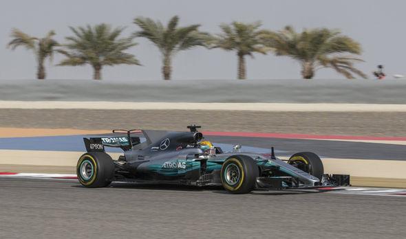 Bahrain Grand Prix Lewis Hamilton