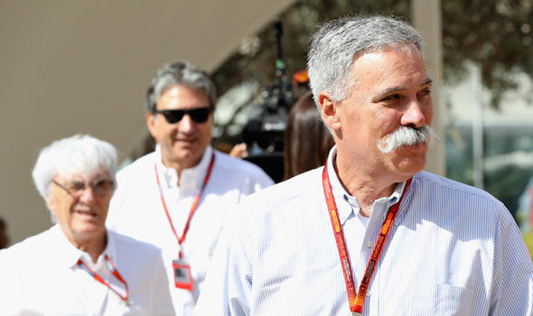 Chase Carey F1 CEO