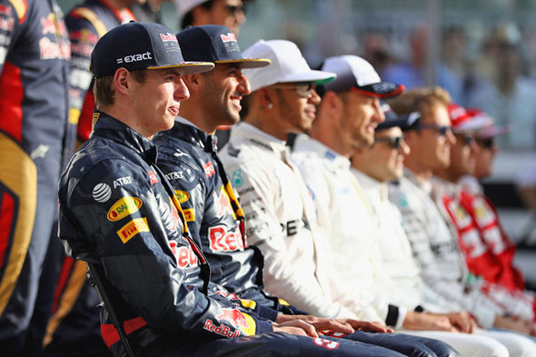 F1 2017 driver line-up