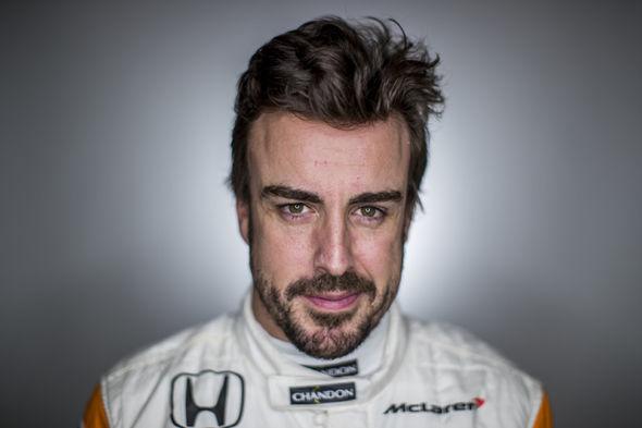 Fernando Alonso McLaren F1 driver