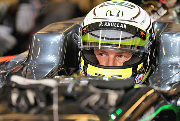 F1 driver Jenson Button