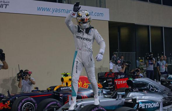 Lewis Hamilton Mercedes F1 driver