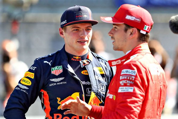 Max Verstappen and Charles Leclerc are the up and coming challengers