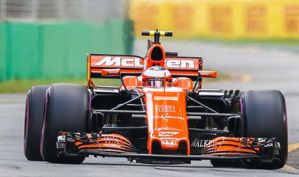 McLaren F1 qualifying Australian Grand Prix