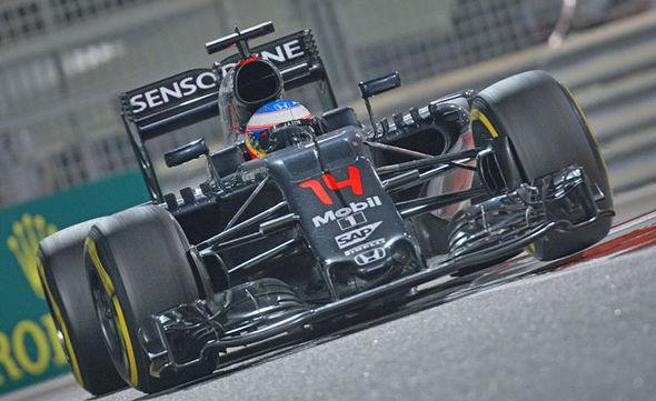 McLaren Honda F1 car