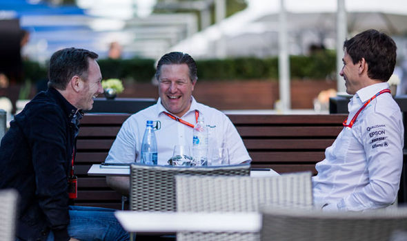 McLaren team boss Zak Brown