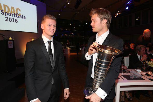 Mick Schumacher and Nico Rosberg