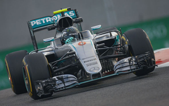 Nico Rosberg Mercedes F1 driver
