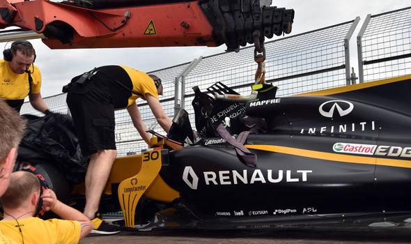 Renault F1 driver Jolyon Palmer