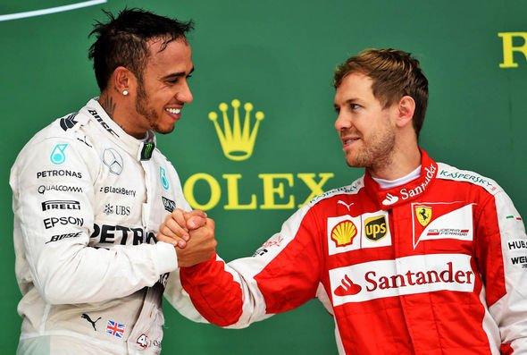 Sebastian Vettel has struggled to match Lewis Hamilton over the past six years